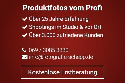 Produktfotografie Frankfurt