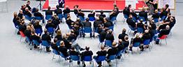 Veranstaltungsfoto eines Businesskongress